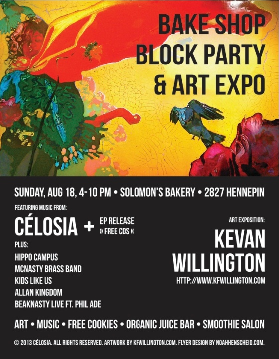BAKE SHOP BLOCK PARTY & ART EXPO